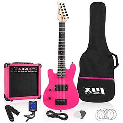 LyxPro 30 Inch Electric Guitar and Starter Kit Bundle for Ki