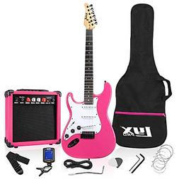 """39"""" Full Size Electric Guitar 20w Amp Package Includes All A"""