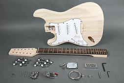 DIY 12 STRING ST-CASTER STYLE ELECTRIC GUITAR KIT-GREAT QUAL