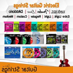 Electric Guitar String Ernie Ball Fender Elixir DAddario Lig