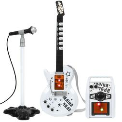 kids electric guitar play set with whammy