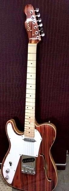 NEW EXOTIC ROSEWOOD THINLINE