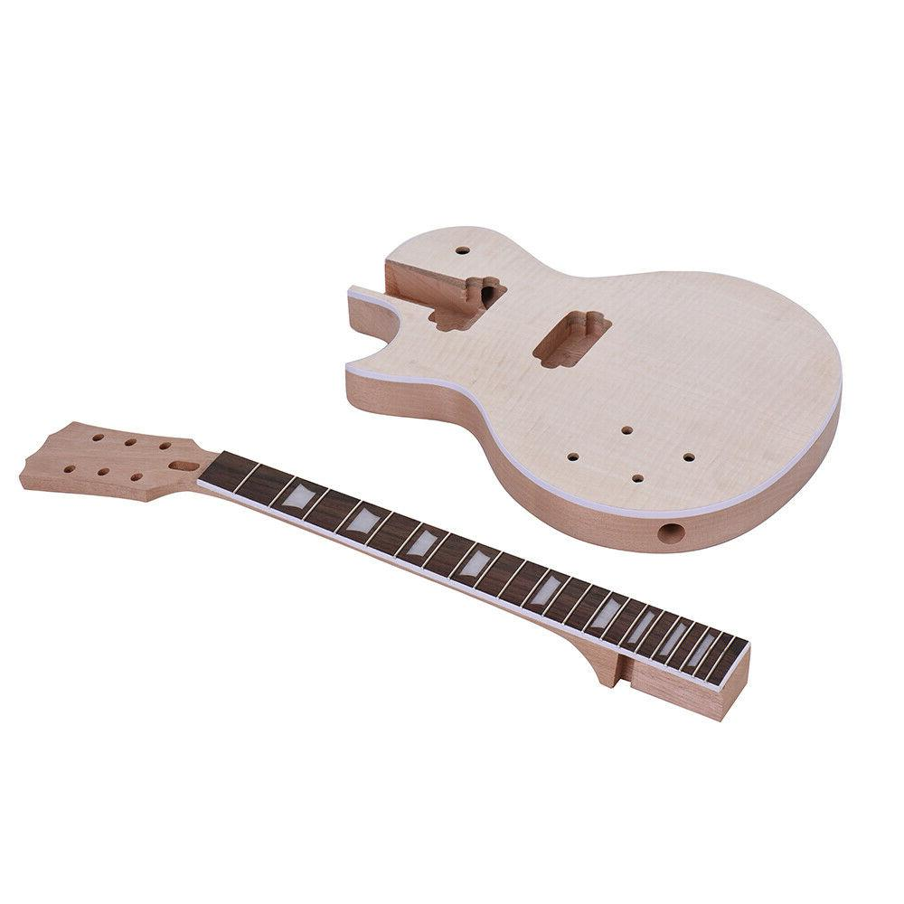 Electric Guitar Rosewood/Maple Kit Your Own Guitar