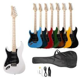 New 8 Colors School Band Right Handed Electric Guitar w/Bag