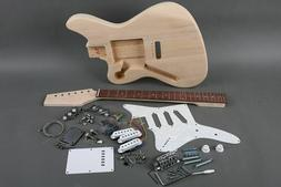 NEW SOLID 6 STRING JAZZMASTER STYLE ELECTRIC GUITAR BUILDER