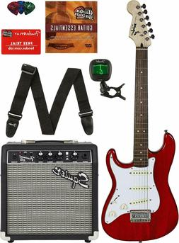 Squier by Fender Short Scale Stratocaster Pack with Frontman